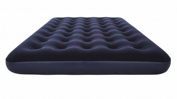 67287 Надувной матрас Flocked Air Bed - Air Pump(Double) 191х137х22 см, электронасос