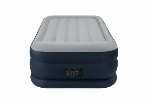 "64132 Кровать-матр.""TWIN DELUXE PILLOW REST RAISED AIRBED WITH FIBER-TECH BIP"",эл/н220V,191х99х42"