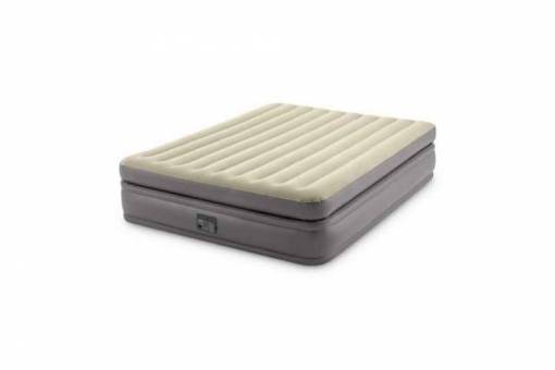 "64164NP Кровать-матр.""QUEEN PRIME COMFORT ELEVATED AIRBED WITH FIBER-TECH BIP"",эл/н220V,203х152х51"